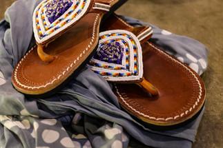 Ukuthula Leather Sandals