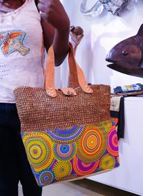 Ukuthula African Handbag Wicker