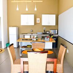 Ukuthula Sunset Cottage Kitchen