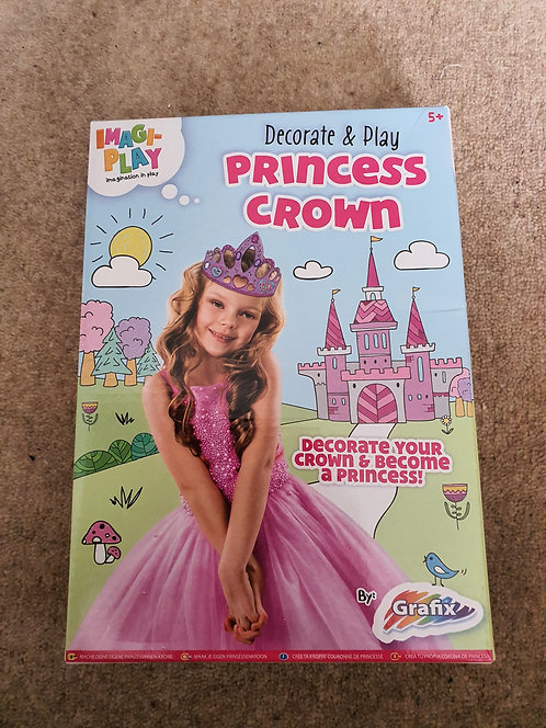 Decorate and play princess crown