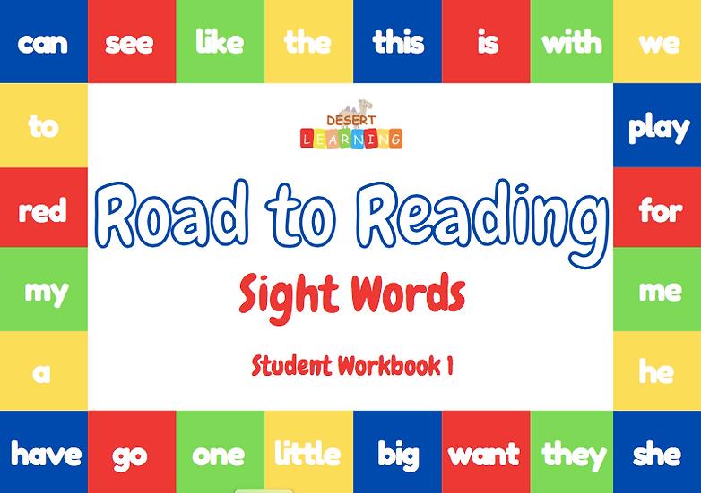 Sight Words Student Workbook 1
