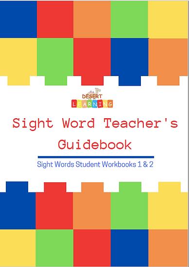 Sight Word Teacher's Guidebook