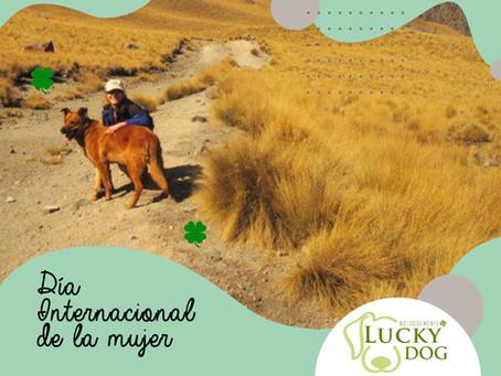 MUJERES LÍDERES. LuckyDog fue creado por una mujer.
