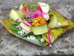 Lotus Village - Bali 2016 - Offering