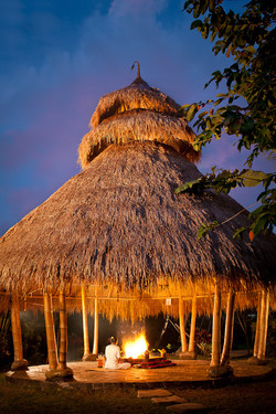 Lotus Village - Bali 2016 - Fire Ceremony ©Bali Yoga Travel