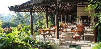 Lotus Village Retreat - Bali 2016 - Restaurant - ©Bali Yoga Travel