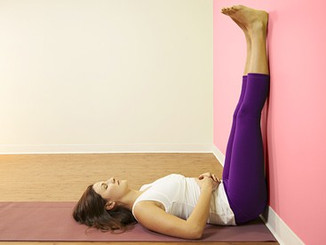 Yoga pose of the week- Leg-Against-Wall