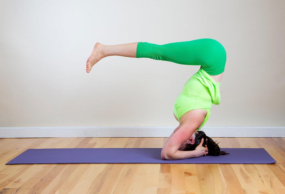 Headstand B Yoga Pose