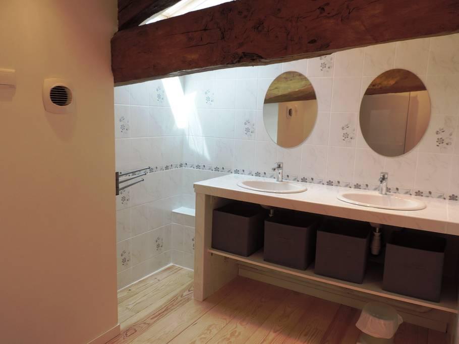 Salle de bain - Stage Reconnexion Juin 2