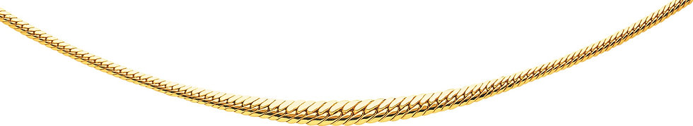 COLLIER MAILLE ANGLAISE CHUTE