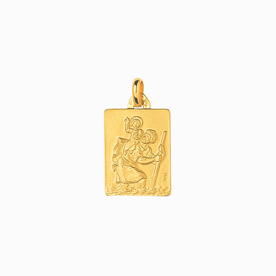 MEDAILLE ST CHRISTOPHE CARRE