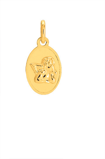 MEDAILLE ANGE OVALE