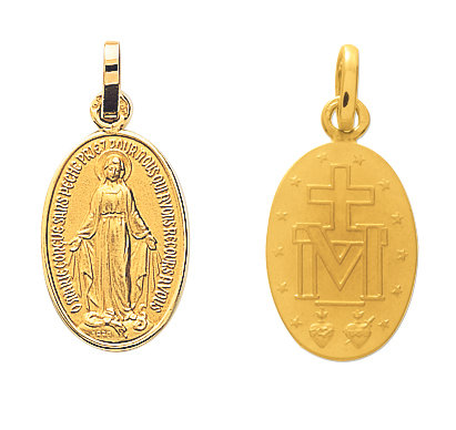 MEDAILLE VIERGE MIRACULEUSE