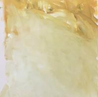 פעימה צהובה,שמן על בד,40-50