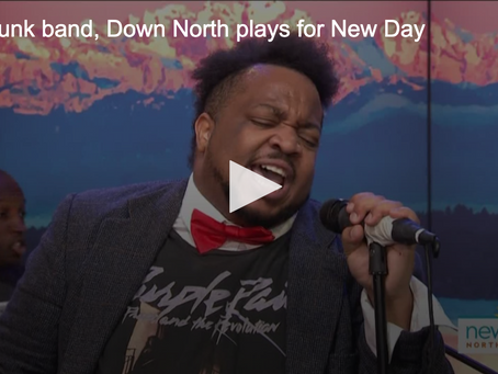 K5 News: Soul punk band, Down North plays for New Day