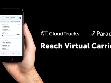 Parade unlocks capacity with CloudTrucks virtual carrier network