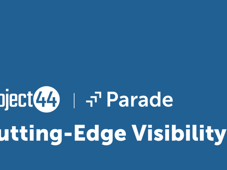 Cutting-Edge Visibility Collaboration: Parade and project44 Pave the Way for the Future of Freight