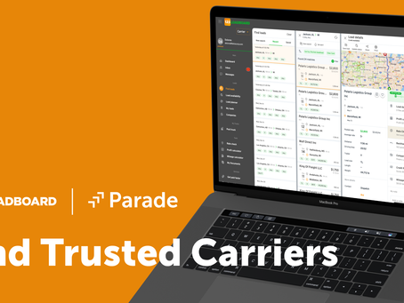 123Loadboard and Parade expand 3PL capacity reach with new freight marketplace channel
