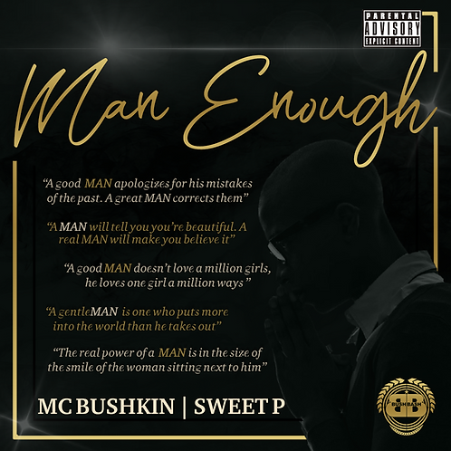 Man Enough Album - Digital Download