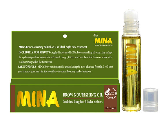 Mina Brow Growth Oil