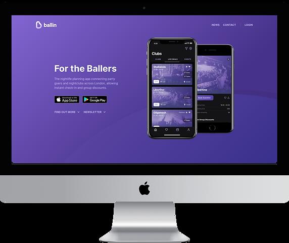 ballin website imac.png