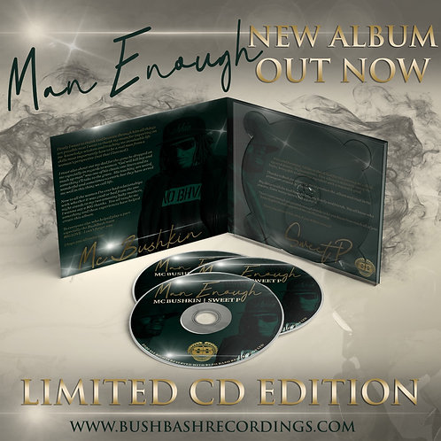 Man Enough Album CD - Limited Edition Hard Copy