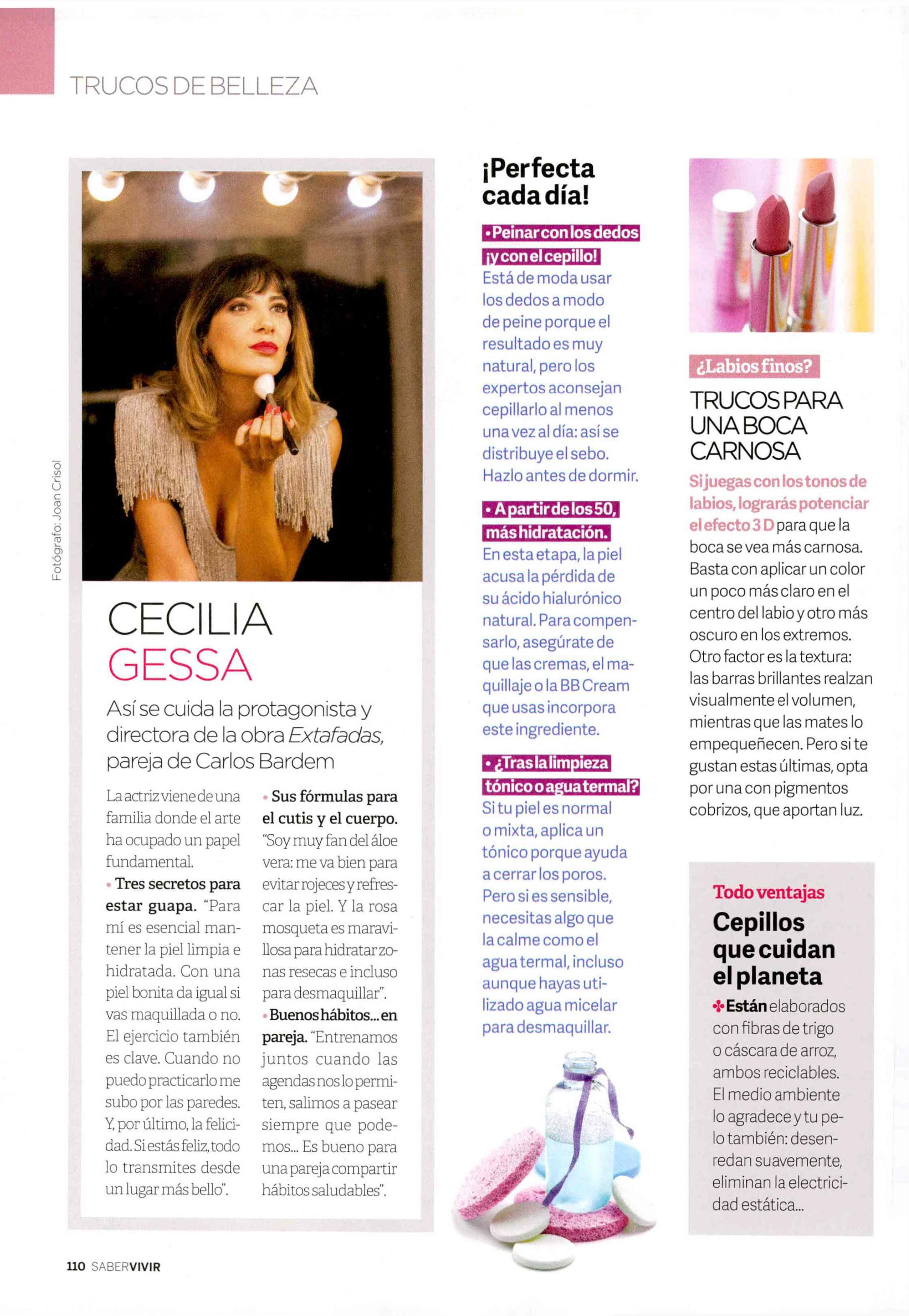 Saber Vivir , Cecilia Gessa