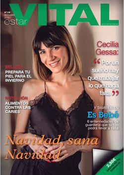 Cecilia Gessa, Portada EstarVital