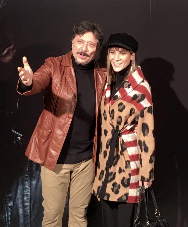 Cecilia gessa y Carlos Bardem