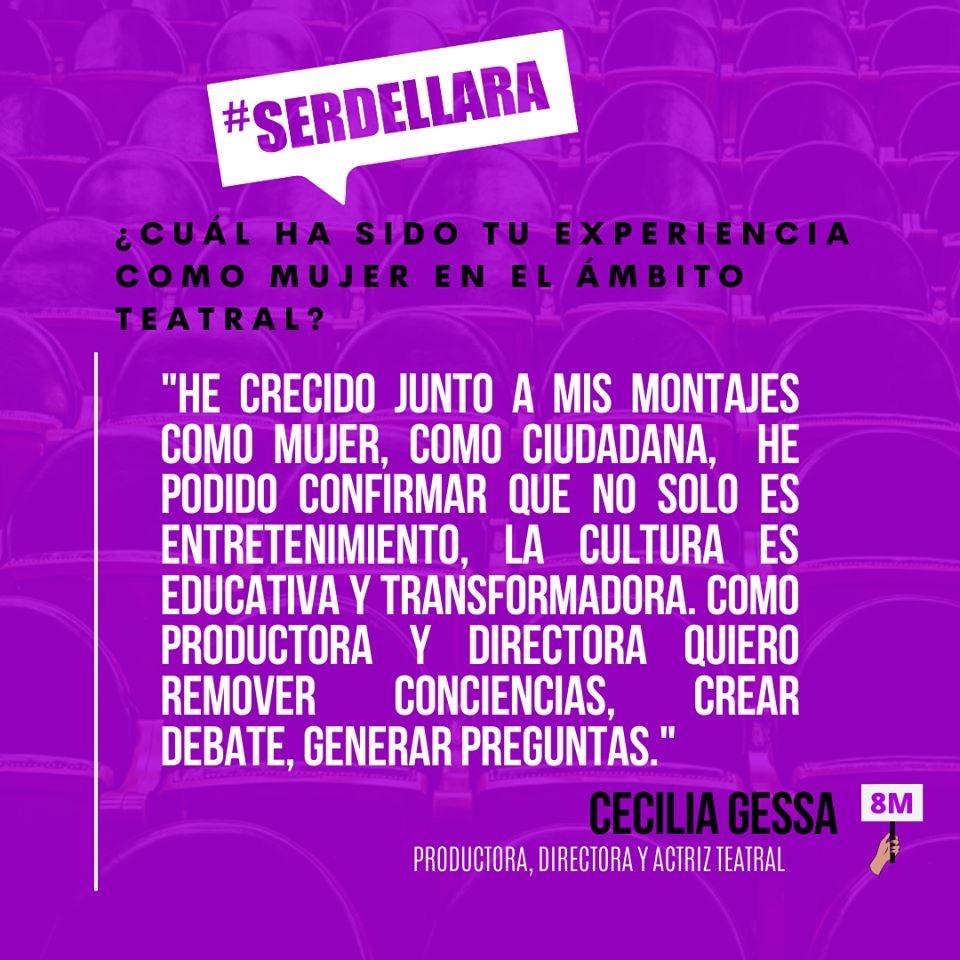 Cecilia Gessa, 8M-Teatro Lara 2020