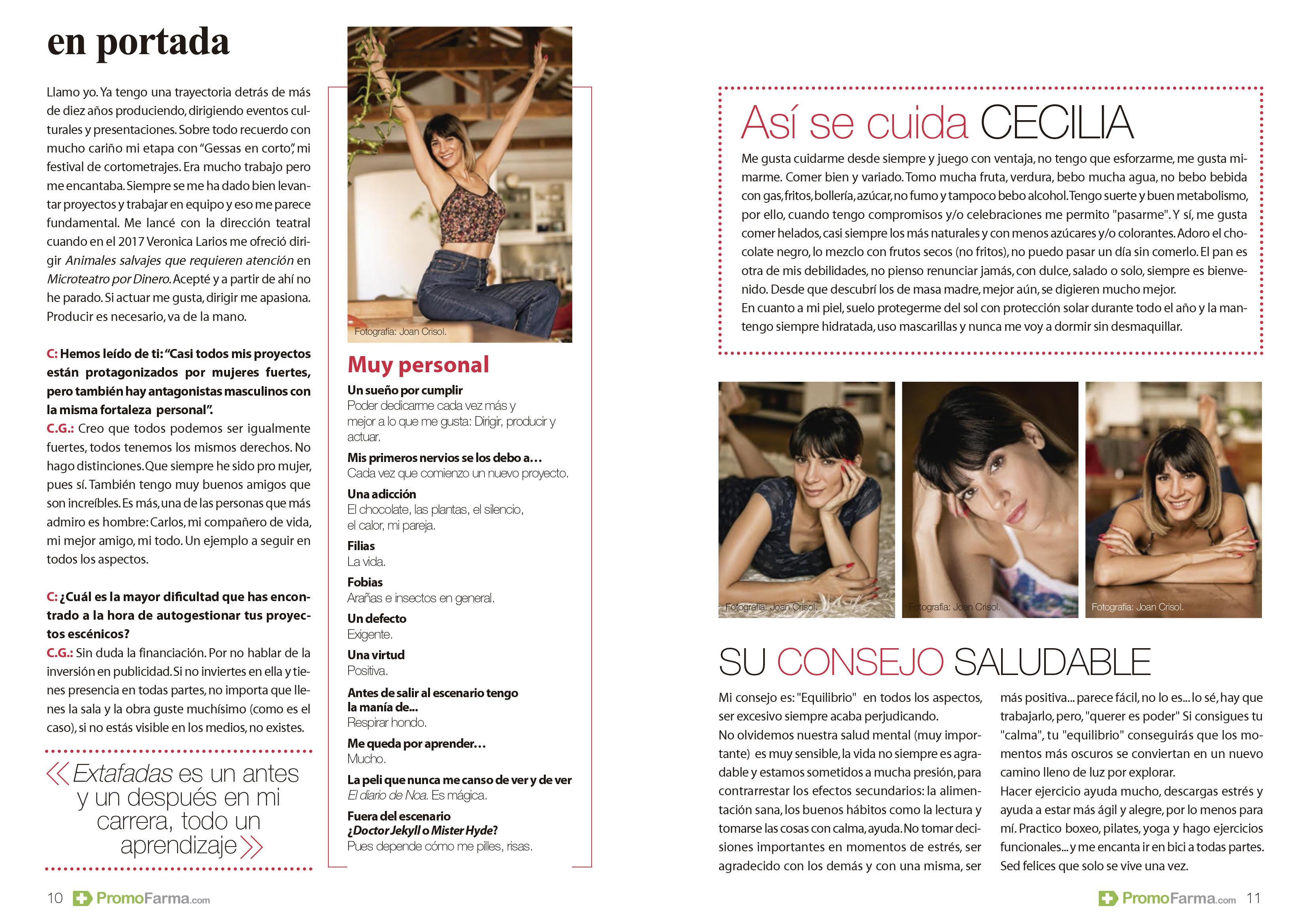 """Cecilia Gessa """"Cuídate"""""""