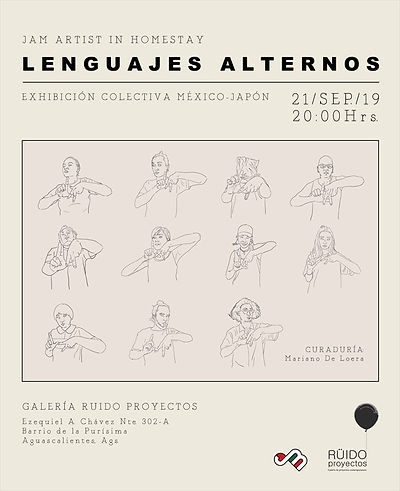 lenguajes alternos art exhibition