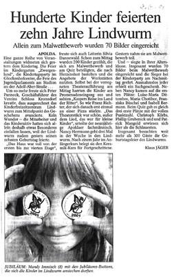 10 Jahre Lindwurm 2001