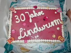 Geburtstagstorte zum 30