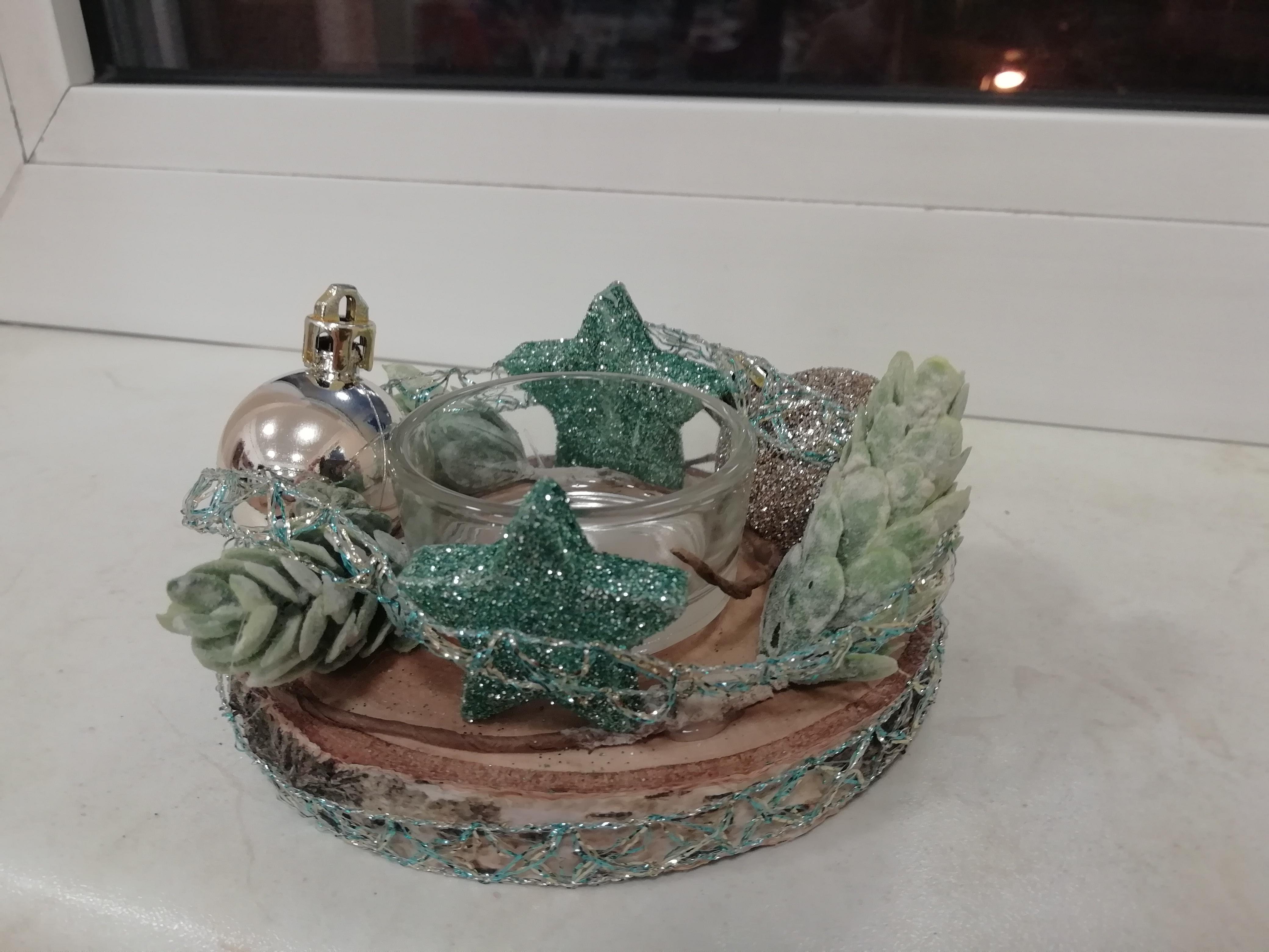 dekorative Weihnachtsplatten
