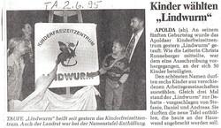 Namensgebung 1995