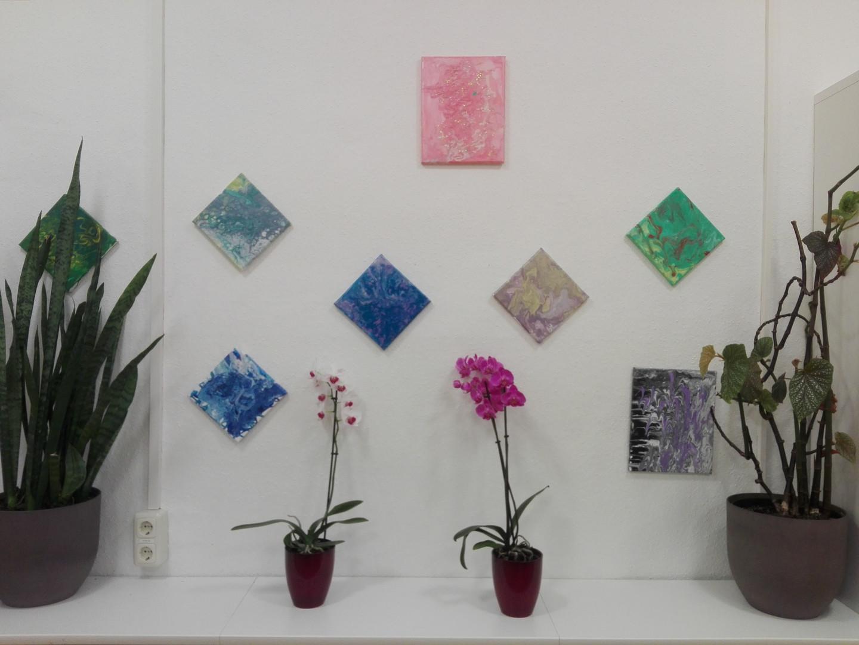 Pouring-Ausstellung
