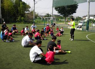 親子サッカーイベント