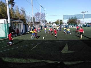 U-10サッカーゲーム交流大会