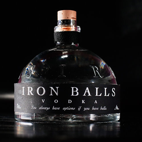 Ironballs Vodka 0,7 cl
