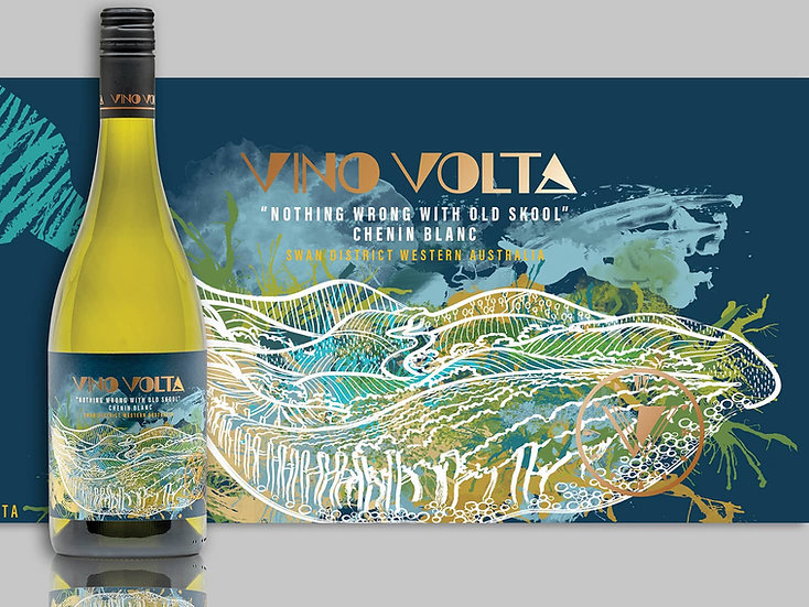 """2019 """"Nothing Wrong With Old Skool"""" Chenin Blanc"""