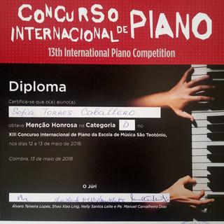 Diploma Sofia Caballero