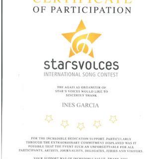 Certificado Inês Garcia