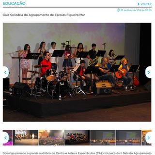 Gala Solidária do Agrupamento de Escolas Figueira Mar, 2018