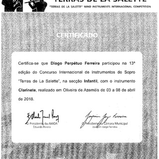 Certificado Diogo Perpétuo Ferreira