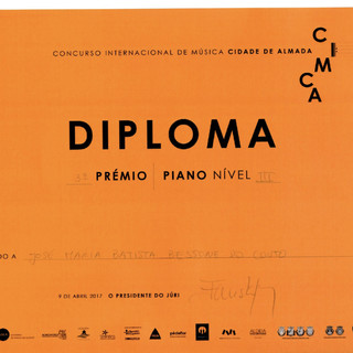 Diploma José Maria Bessone