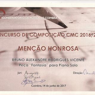 Diploma Bruno Vicente