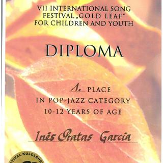 Diploma Inês Garcia