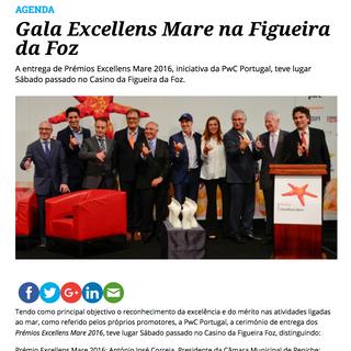 Gala Excellens Mare, 2016