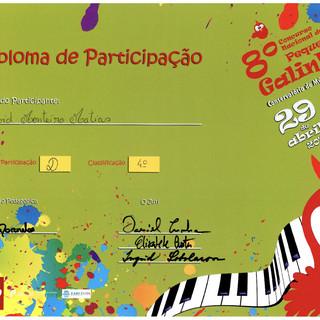 Diploma David Monteiro Matias